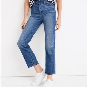 Madewell Cruiser Straight Jeans 31